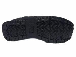 Зимние New Balance 754 Leather черные - фото подошвы