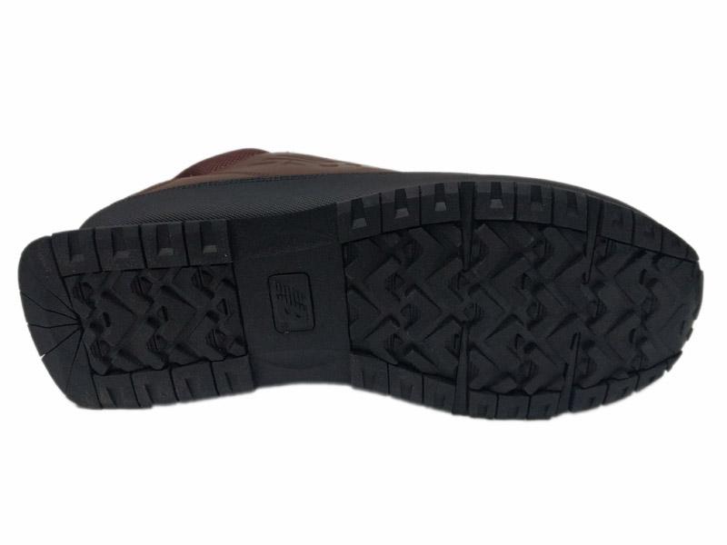 Зимние New Balance 754 Leather шоколадные с коричневым - фото подошвы ... 5821a35a9a2