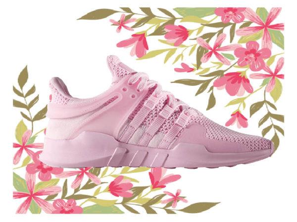 Весенние женские кроссовки