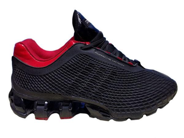 Adidas Porsche Design Sport черные с красным в сетку