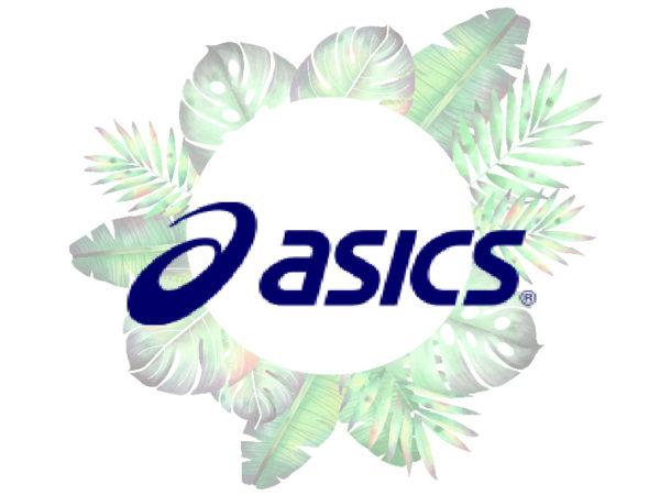 Летние кроссовки Asics