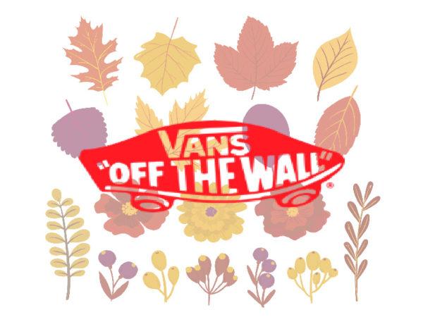 Осенние кеды Vans