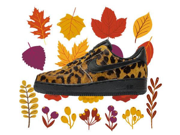 Осенние женские кроссовки