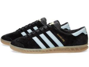 Adidas Hamburg черные с белым