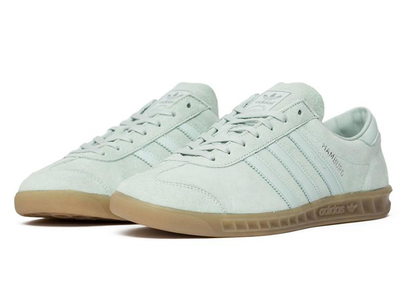 Adidas Hamburg белые
