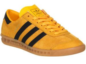 Adidas Hamburg желтые с черным