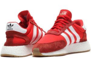 Adidas Iniki Runner Boost красные