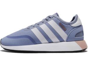 Adidas N-5923 Iniki Runner голубые с белым