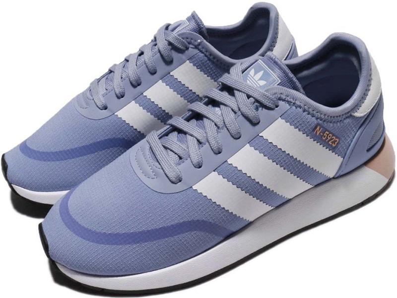 fca8c5220157 Adidas N-5923 Iniki Runner голубые с белым - купить в Москве