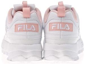 Fila Disruptor 2 белые с розовым