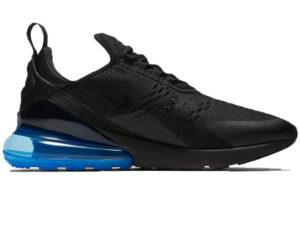 Nike Air Max 270 черные с синим