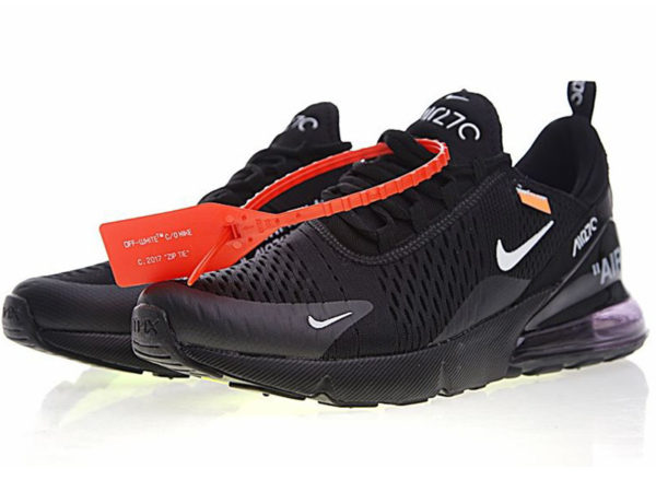 Nike Air Max 270 Off White X черные
