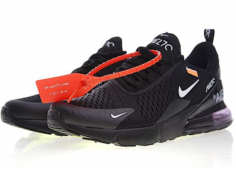 Nike Air Max 270 Off White X черные