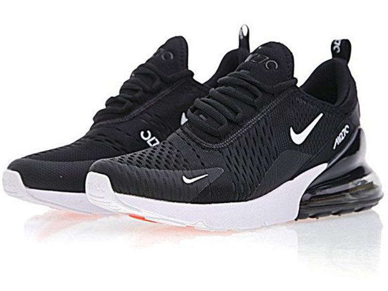 Nike Air Max 270 черные с белым