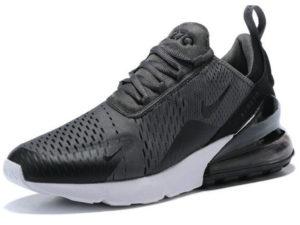 Nike Air Max 270 серые с черным