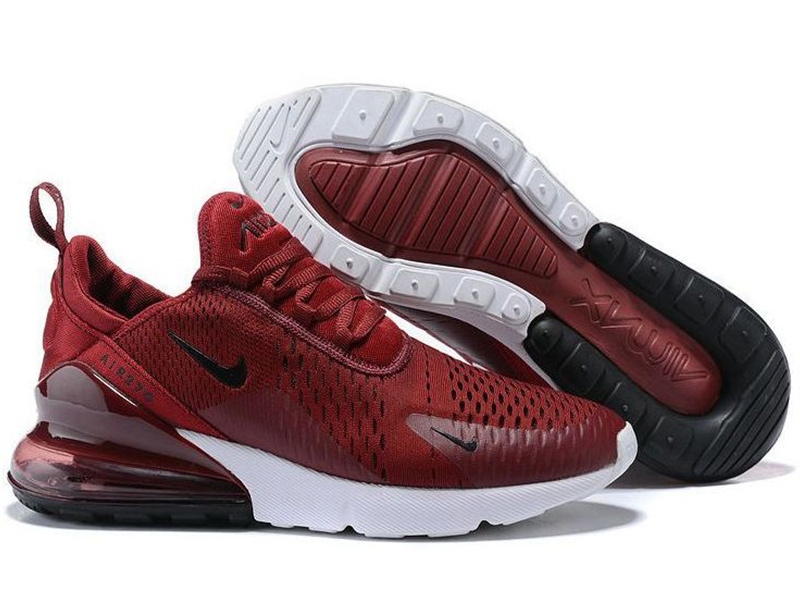 Nike Air Max 270 бордовые