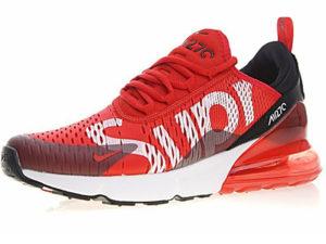 Nike Air Max 270 Supreme X красно-белые