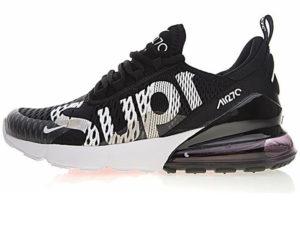 Nike Air Max 270 Supreme X черно-белые