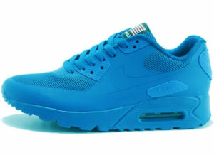 Nike Air Max 90 Hyperfuse сине-бирюзовые
