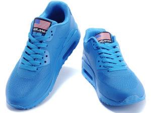 Nike Air Max 90 Hyperfuse сине-бирюзовые