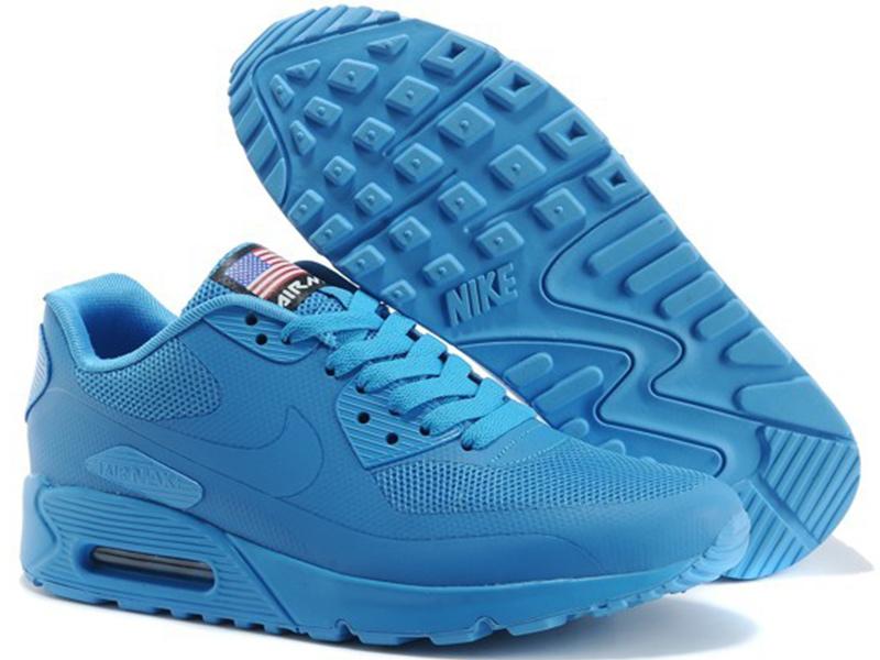 0d2d530e425c Nike Air Max 90 Hyperfuse сине-голубые - купить в Москве