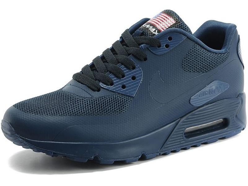 03378b230e1411 Nike Air Max 90 Hyperfuse темно-синие - купить в Москве