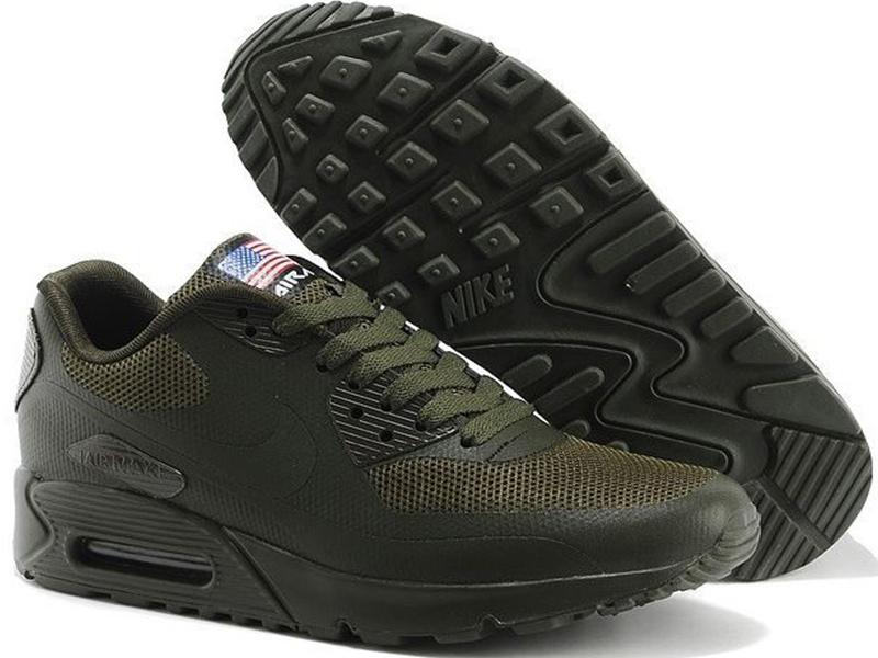 565083c8 Nike Air Max 90 Hyperfuse темно-зеленые - купить в Москве
