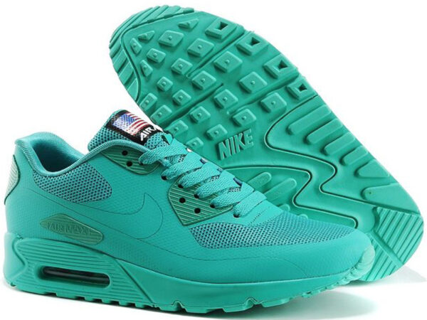 Nike Air Max 90 Hyperfuse бирюзовые