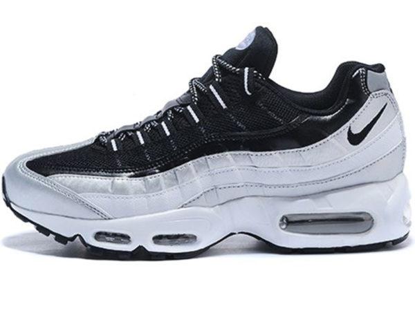 Nike Air Max 95 Essential черные с белым