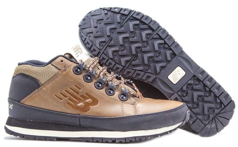 Кроссовки New Balance 754 кожаные коричневые 40-44