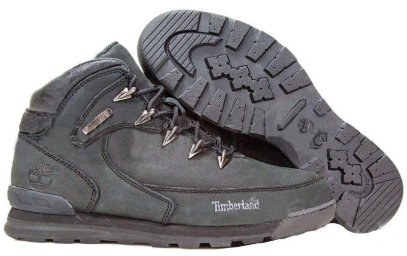 Ботинки Timberland Euro Sprint 2 с мехом черные 41-46