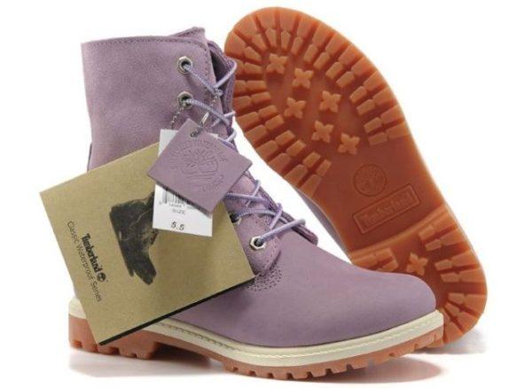 Зимние женские ботинки Timberland с мехом