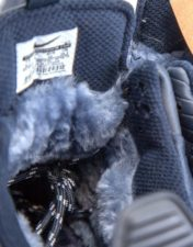 Зимние Nike Air Max 90 High с мехом черные 40-45
