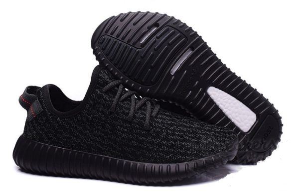 Adidas Yeezy Boost 350 (kanye west) Pirate Black черные (36-45).