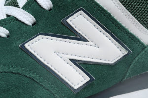 Кроссовки New Balance 574 зеленые с белым (35-40)