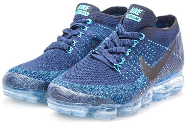 Nike Air VaporMax Flyknit Blue синие 40-44