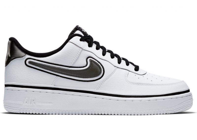 Кроссовки Nike Air Force 1 '07 LV8 Sport NBA белые (40-44)