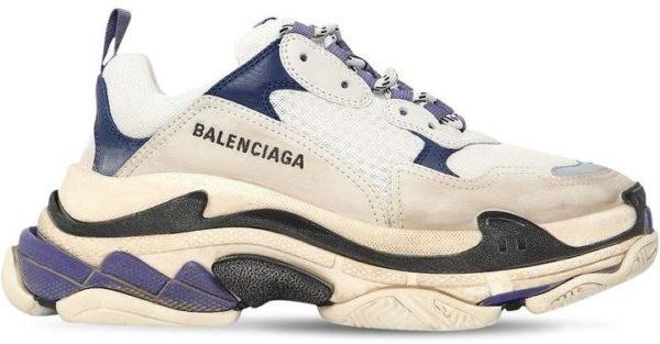 Balenciaga Triple S фиолетовые женские (35-40)