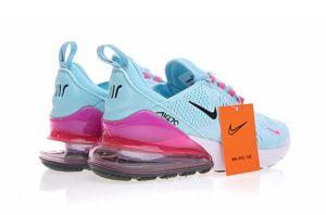 Nike Air Max 270 голубые с розовым (35-39)