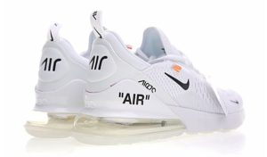 Nike Air Max 270 Off White x белые (35-44)