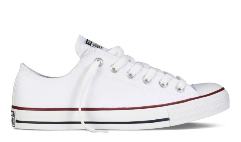 Converse All Star Chuck Taylor low white / низкие белые (35-45). Конверс Ол Стар