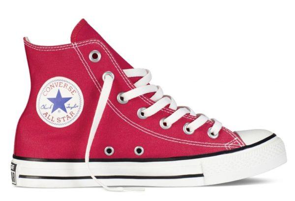 Converse All Star высокие red красные (35-45). Конверс Ол Стар