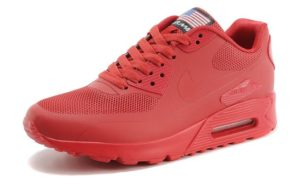 Nike Air Max 90 Hyperfuse красные (35-45)