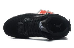 Nike Air Jordan 4 черные (35-45)