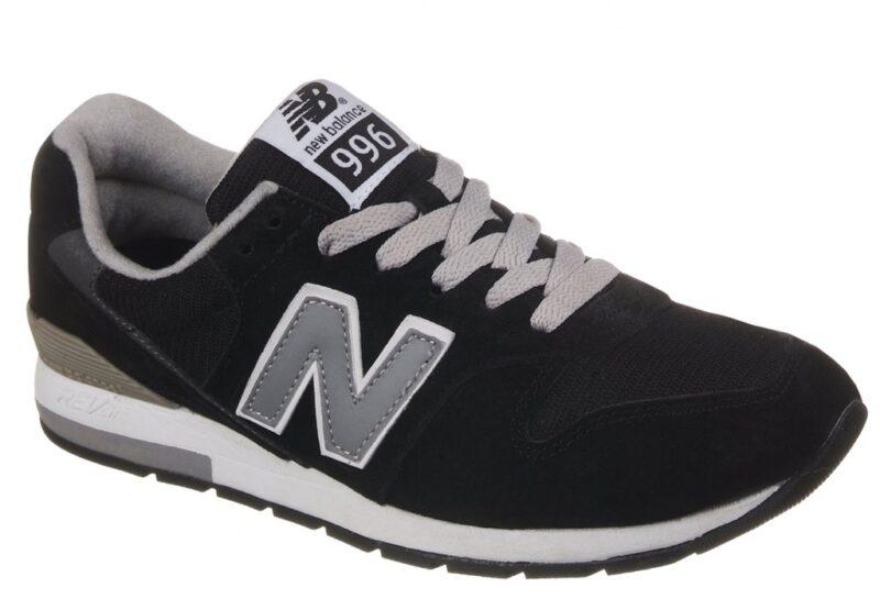 Кроссовки New Balance 996 серо-черные (39-44)