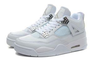 Nike Air Jordan 4 белые (40-46)