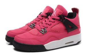 Nike Air Jordan 4 малиновые (35-40)