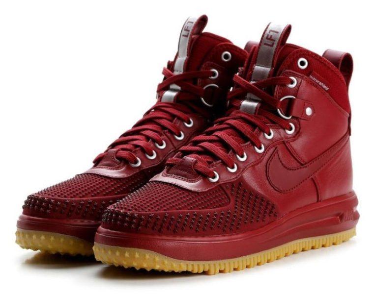 Nike Air Force 1 Lunar Duckboot красные (40-44)