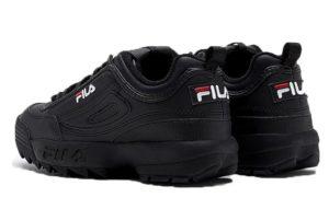 Fila Disruptor 2 black черные (35-44)