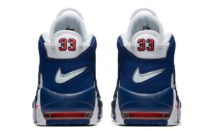Nike Air More Uptempo белые с синим 40-45